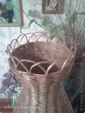 Моя вторая большая ваза!!! фото 2