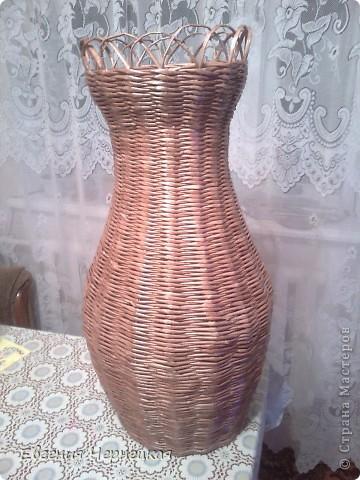 Моя вторая большая ваза!!! фото 3