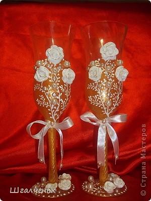 Бокалы свадебные. фото 1