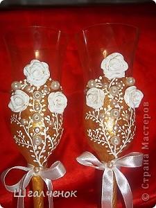 Бокалы свадебные. фото 2