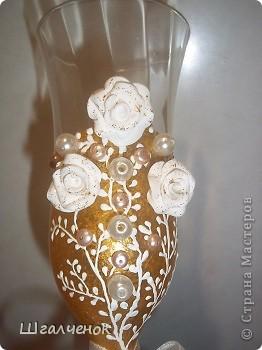 Бокалы свадебные. фото 3