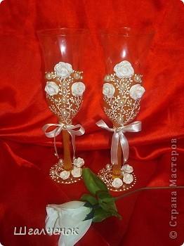 Бокалы свадебные. фото 4