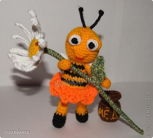 Маленькая,добрая,нежная пчёлка всё лето трудилась и насобирала горшочек мёда,который теперь тщательно охраняет.))) фото 1