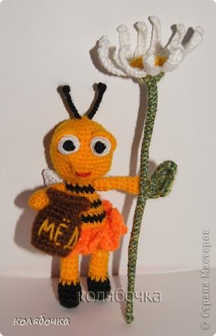Маленькая,добрая,нежная пчёлка всё лето трудилась и насобирала горшочек мёда,который теперь тщательно охраняет.))) фото 2