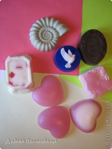 Дочка съела конфетки, а формочки достались мне под мыло... фото 3