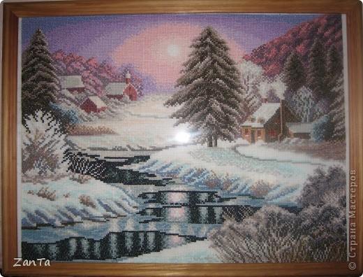 Зимний вечер, красота и нега, Тишина, услада и покой. Как прекрасен мир под белым снегом. Как прекрасно быть сейчас с тобой... фото 1