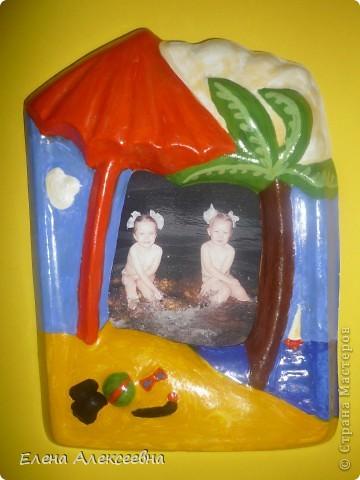 """Рамочка """"черепашка"""" сделана в подарок. фото 3"""