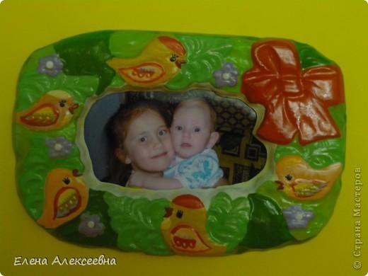 """Рамочка """"черепашка"""" сделана в подарок. фото 6"""