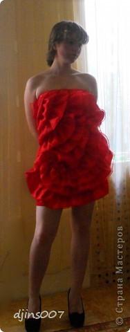 сшила платье