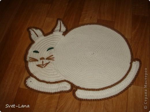 """прикроватный коврик """"Котик"""""""