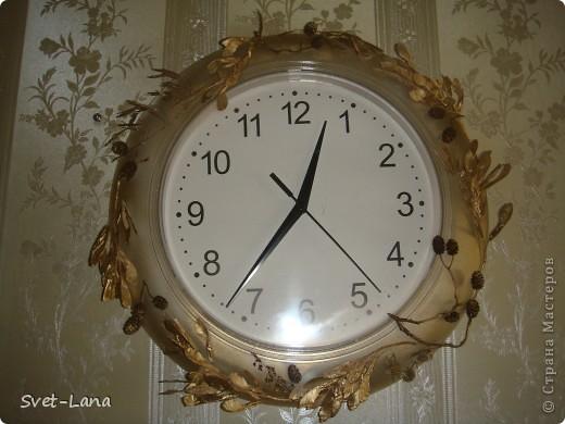 декорированные часы