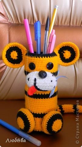 Тигрёнок-карандашница