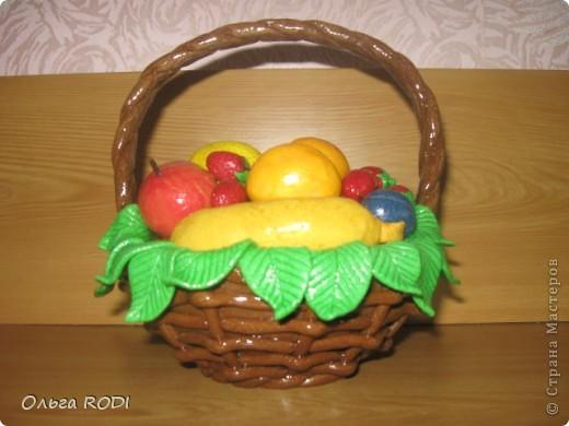 Корзинок с клубникой, фруктами я делала, делала, не переделала... фото 5