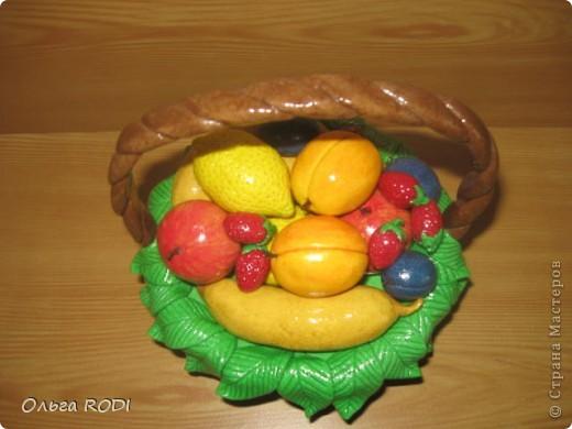 Корзинок с клубникой, фруктами я делала, делала, не переделала... фото 6