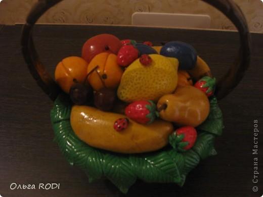 Корзинок с клубникой, фруктами я делала, делала, не переделала... фото 8