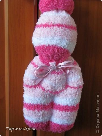 С добрым утром, Страна! Мои вальдорфские куколки получили продолжение и пополнение. Представляю их Вам. Подарочный вариант для новорожденной девочки. фото 1