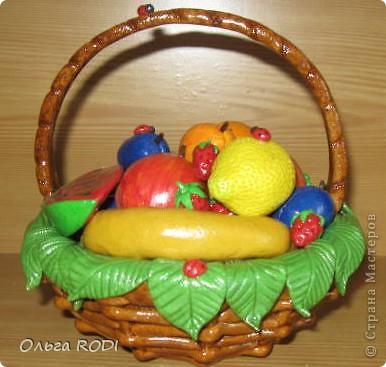 Корзинок с клубникой, фруктами я делала, делала, не переделала... фото 3
