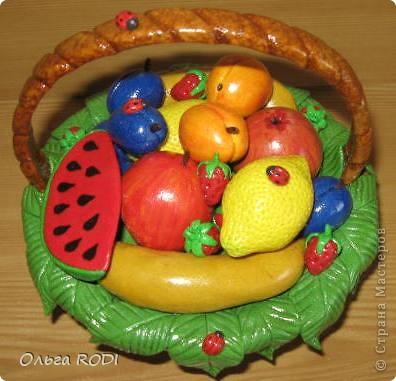 Корзинок с клубникой, фруктами я делала, делала, не переделала... фото 4