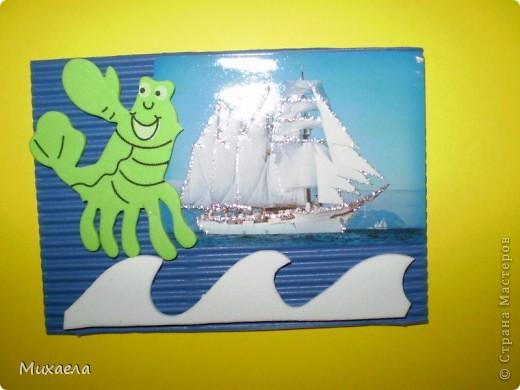 Мне тоже нравится море, его обитатели и особенно кораблики.Хотела и вас порадовать, и вот что получилось. У меня есть несколько долгов, девочки выбирают первыми(Уточка, ЛеНкина, Vitulichka) обещала и Ladybug.  фото 3