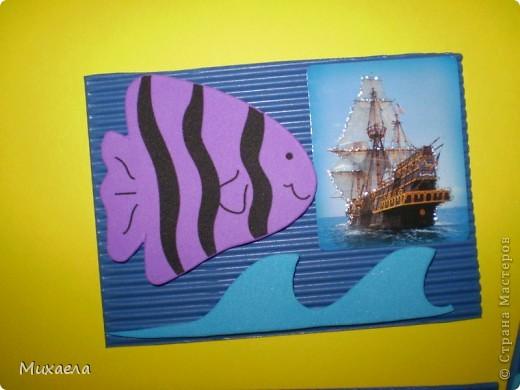 Мне тоже нравится море, его обитатели и особенно кораблики.Хотела и вас порадовать, и вот что получилось. У меня есть несколько долгов, девочки выбирают первыми(Уточка, ЛеНкина, Vitulichka) обещала и Ladybug.  фото 5