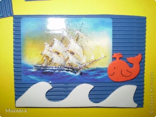 Мне тоже нравится море, его обитатели и особенно кораблики.Хотела и вас порадовать, и вот что получилось. У меня есть несколько долгов, девочки выбирают первыми(Уточка, ЛеНкина, Vitulichka) обещала и Ladybug.  фото 9