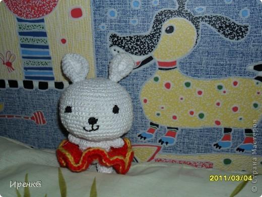 моя первая игрушка, заяц:)