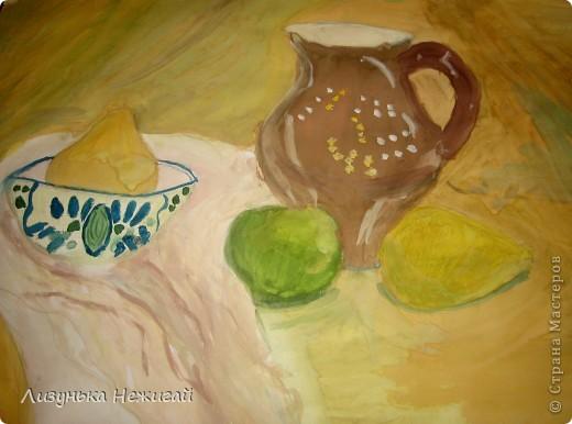 Натюрморт с лимоном фото 1