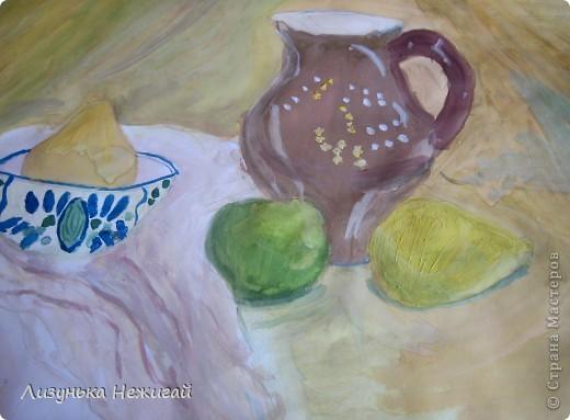 Натюрморт с лимоном фото 2