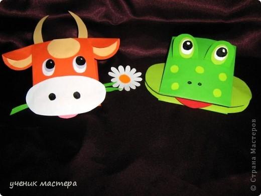 Эти забавные игрушки появились как продолжение темы    http://ejka.ru/blog/podelki/895.html. Сделав с детками щенка, мы решили пойти дальше и придумали коровку и лягушку.