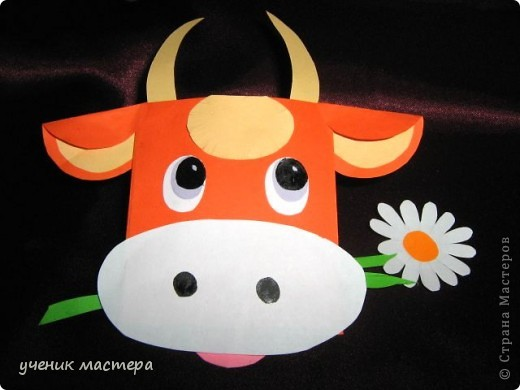 Эти забавные игрушки появились как продолжение темы    http://ejka.ru/blog/podelki/895.html. Сделав с детками щенка, мы решили пойти дальше и придумали коровку и лягушку.  фото 5
