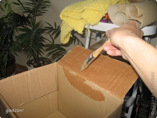 Посмотрела я на коробочки Оли (Олисандры) и решила свои преобразить.   фото 3