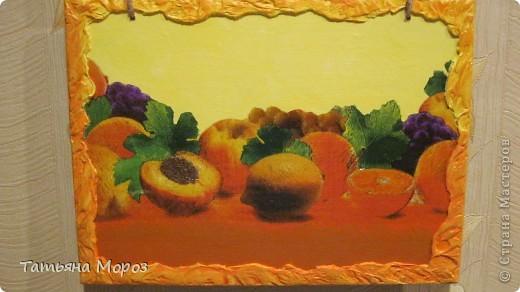 Вот такое кухонное панно сделала в подарок хорошему человечку. фото 4