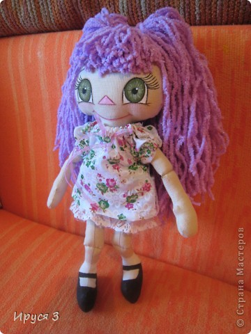 Куколка Фиалка фото 4