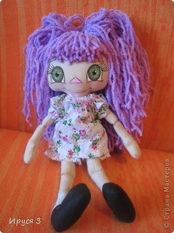 Куколка Фиалка фото 9