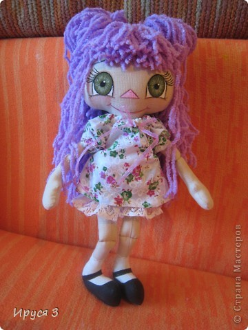 Куколка Фиалка фото 14