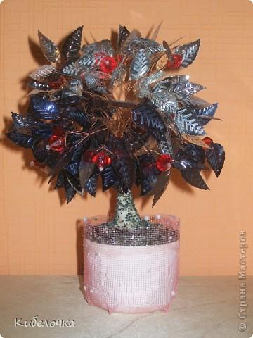 Это моё первое дерево, мужу в подарок фото 19