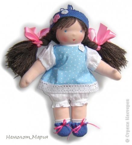 Вальдорфская кукла Капелька. фото 1