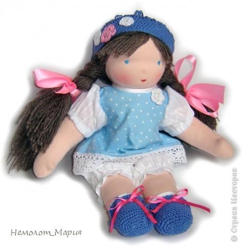 Вальдорфская кукла Капелька. фото 2