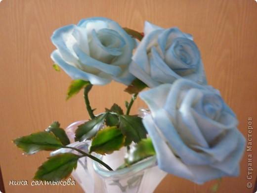 """Приветствую вас, дорогие мастерицы. Выставляю на ваш суд очередные розы. """"Роса"""" - гель имитация воды. Вот только не знаю как с  ней пользоваться, может кто-то знает: подскажите, буду очень благодарна. фото 2"""