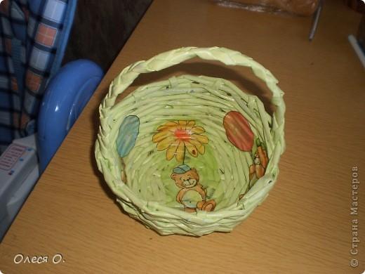 Моя самая первая плетенка. фото 6