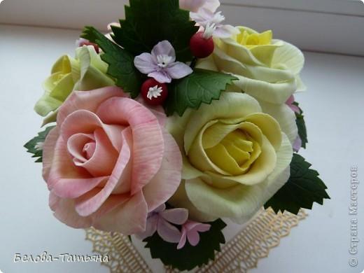 и снова розы... пока только их и умею лепить. фото 4