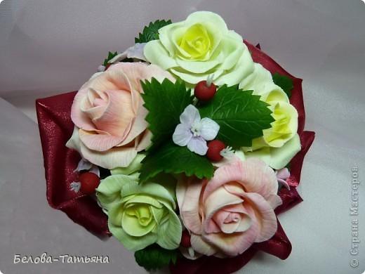 и снова розы... пока только их и умею лепить. фото 1