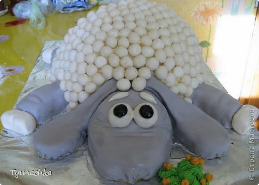 """Вот  такой  вот тортик испекла  на 18-летие подруги  моей  дочери. """"Дизайн"""" тортика  выбирала  сама именинница :))) Конечным  результатом  (в том числе  и на вкус) именинница  осталась  очень  довольна :))) фото 2"""