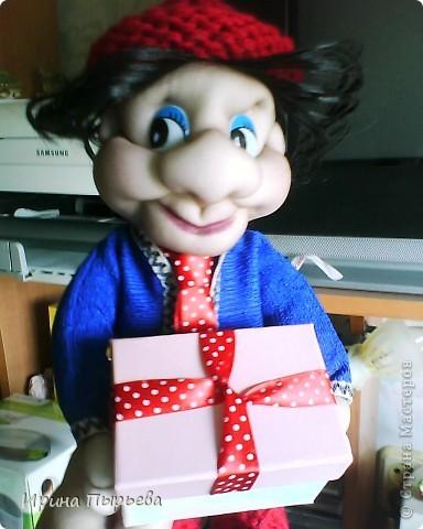Коробочка открывается,можно положить любой подарок(коробка 12*7см) фото 2