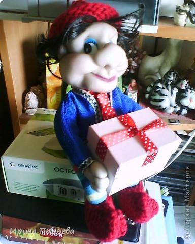 Коробочка открывается,можно положить любой подарок(коробка 12*7см) фото 1