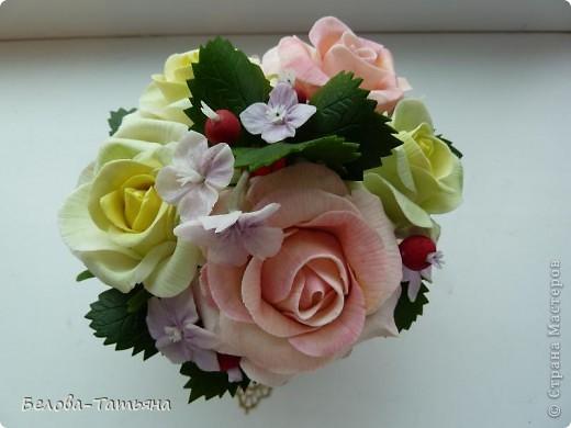 и снова розы... пока только их и умею лепить. фото 5