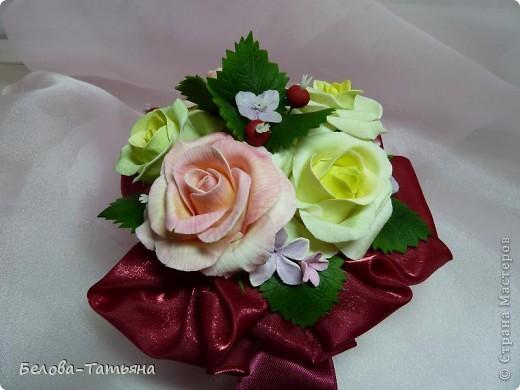 и снова розы... пока только их и умею лепить. фото 3