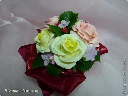 и снова розы... пока только их и умею лепить. фото 2