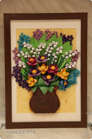 Букетик цветов.