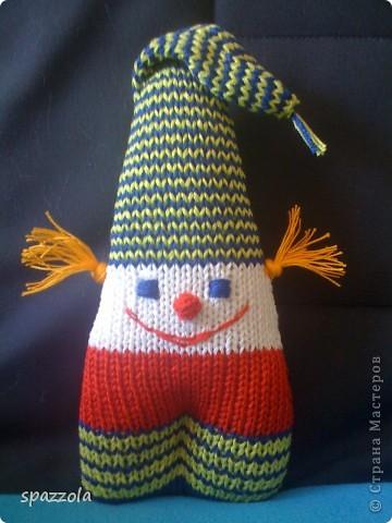 клоун-погремушка